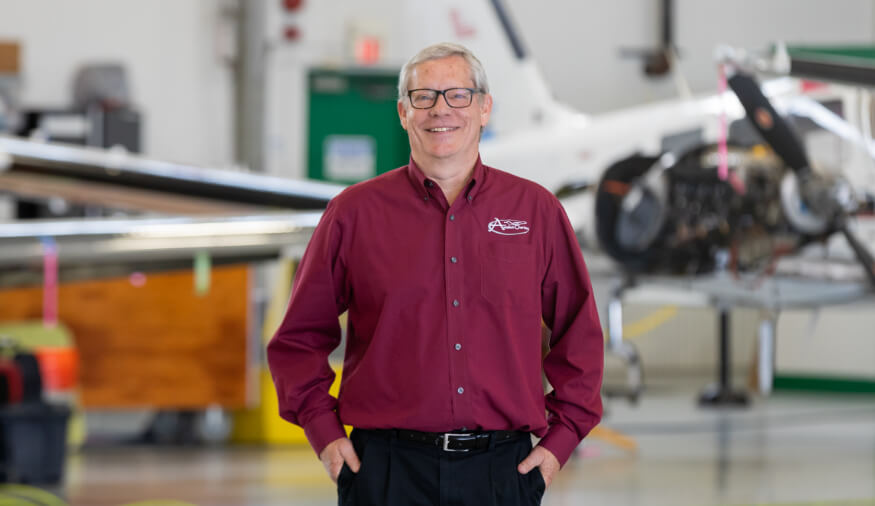 Jim Beresford - Aviation Charters Director of Maintenance/Vice President