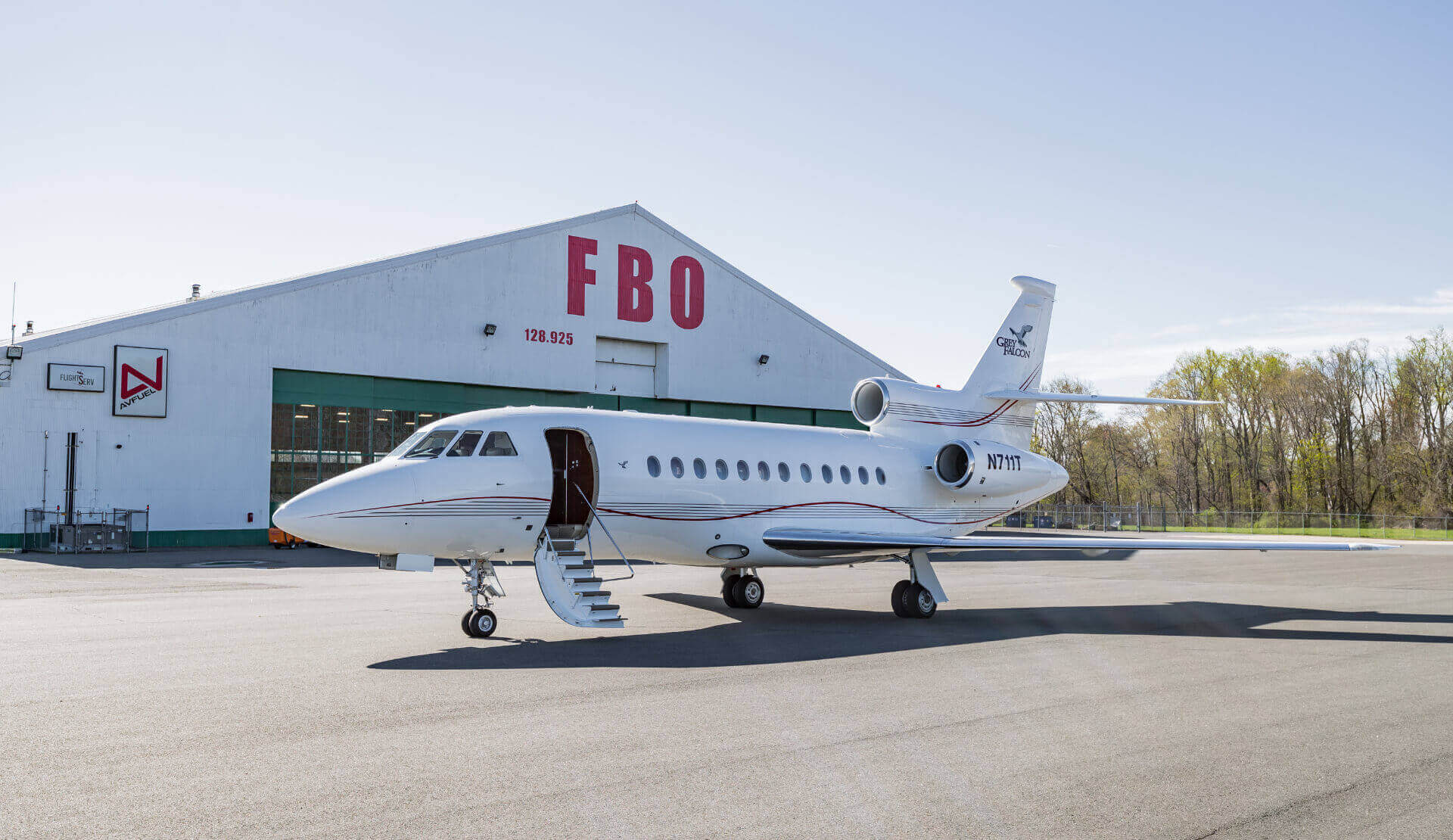Falcon 900EX Jet - Private Flight Jet