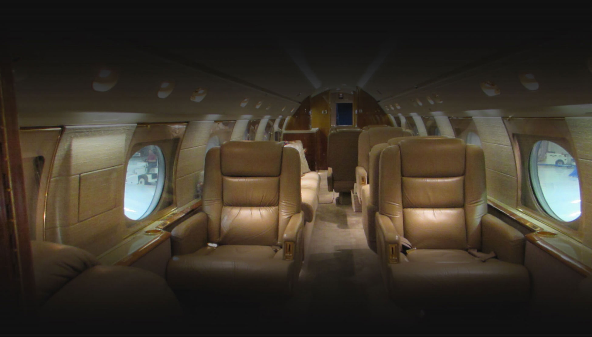 Gulfstream GIVSP Private Flight