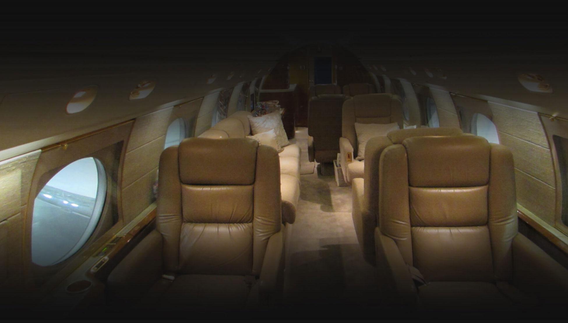 Gulfstream GIVSP Aircraft Interior