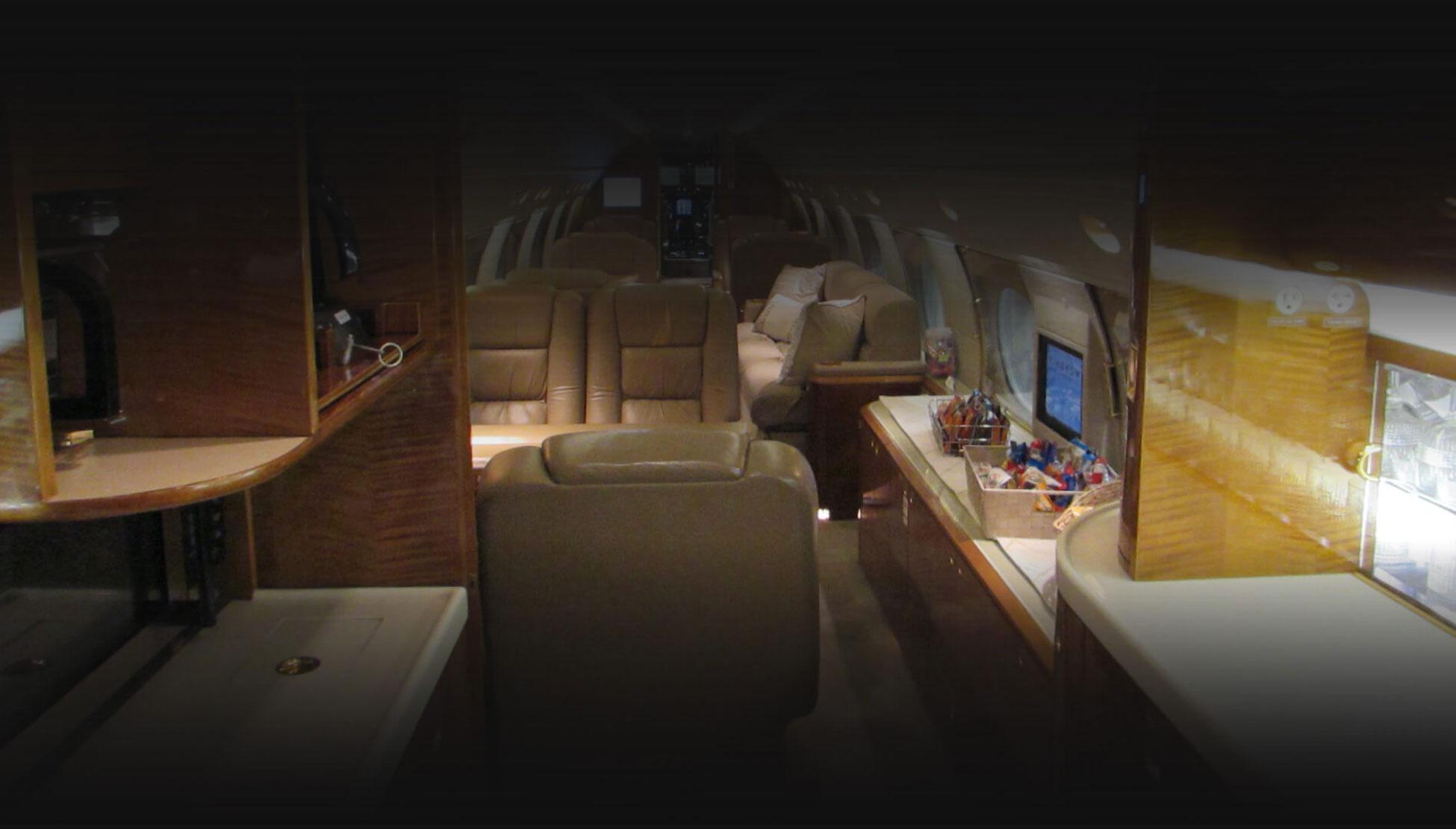 Aircraft Gulfstream GIVSP Jet