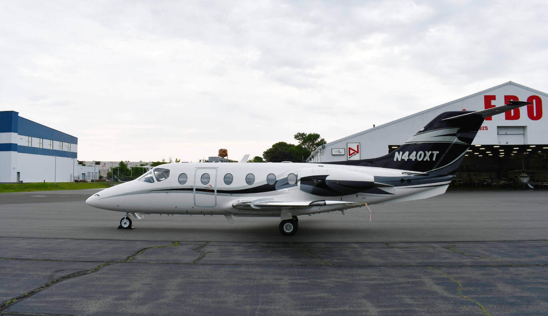 Aircraft Exterior - Nextant 400XT
