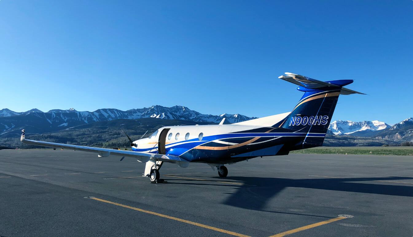 Aviation Charter - Pilatus PC-12