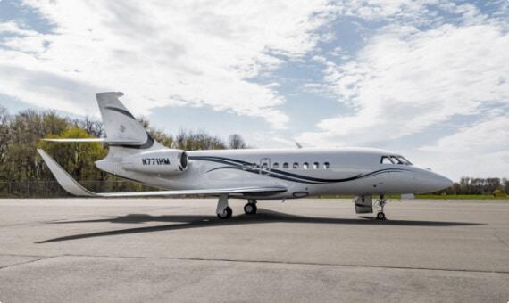 FALCON 2000LXS Jet