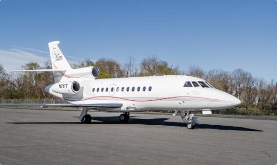 Falcon 900EX Jet